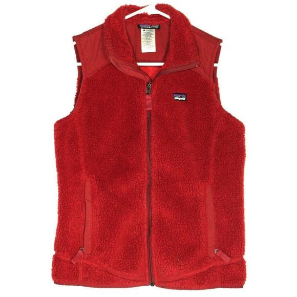 Patagonia Jackets & Blazers - Patagonia Womens Retro X Red Fleece Vest Medium